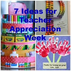 7 Ideas for Teacher Appreciation Week via Today's Mama