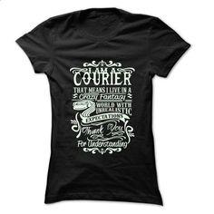Job Title Courier ... 99 Cool Job Shirt ! - #blue shirt #cropped sweatshirt. SIMILAR ITEMS => https://www.sunfrog.com/LifeStyle/Job-Title-Courier-99-Cool-Job-Shirt-.html?68278