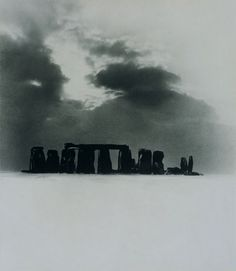 Bill Brandt - Stonehenge Under Snow, 1947. S)