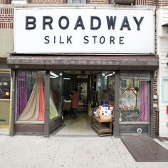 """Broadway Silk Store in Astoria, Queens, a purveyor of fabric and costume jewelry, has furnished costuming for an array of productions over its 80-year-history, including """"Sesame Street,"""" """"Men in Black 3"""" and """"The Good Wife."""" (Photo: James Estrin/The New York Times)"""