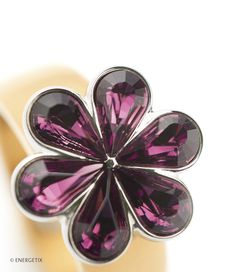 Exclusively designed magnetic jewellery by ENERGETIX. Fashionable bracelets, necklaces, rings and earrings. Discover wellness at its most beautiful. Purple, Jewelry, Collection, Bee, Magnets, Catalog, Jewlery, Jewerly, Schmuck