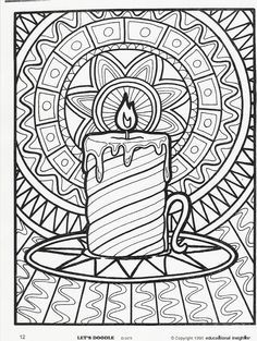 More Let's Doodle Coloring Pages! - Beyond the Toy Chest