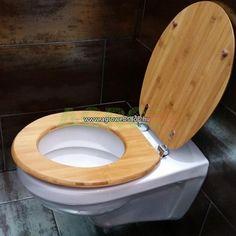Bambusz wc ülőke