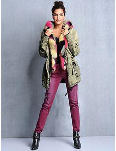 #Parka #Jeans #Stiefelette