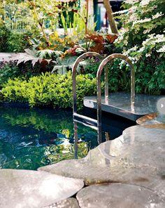 Plunge pool {PHOTO: Virginia Macdonald}