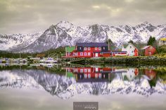 House, Ringstad Sjøhus, Ringstad, Bø, Vesterålen, Nordland, Norge (Norway)