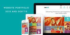 Website Portfolio Do's and Don't's