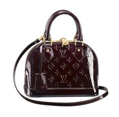 The Alma BB bag in Monogram Vernis is on our #LVWishList this holiday season.