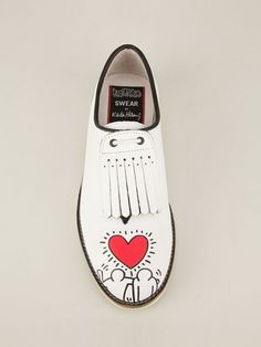 Love the Swear shoe by Keith Haring! #Shoes # Keithharing