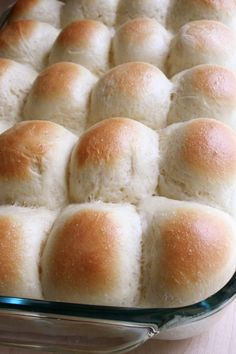 Pani Popo Hawaiian Rolls with Coconut Milk | www.tryanythingonceculinary.com | Soft and fluffy rolls baked in sweet coconut milk. There are never any leftovers... | #coconutmilk #rolls #panipopo