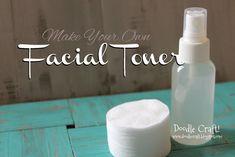 DIY Homemade Facial Toner, pore reducer and brightener!