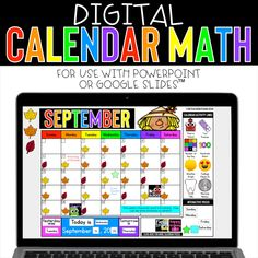 Looking for ways to freshen up calendar math?  Or maybe even ways to incorporate it during distance learning?  This digital resource is amazing for keeping everything you need for calendar math all in one place.  Beyond monthly calendars, activities include days in school tracker (base 10 / place value), ten frames, number of the day, hundreds chart, weather graph, daily feelings check in and more!