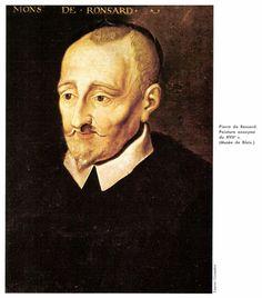 Pierre de Ronsard (1525-1585) dichter van o.s. Sonnets pour Hélène