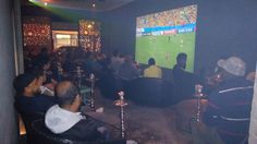 UEFA Finals, Soccer and Shisha, cant go wrong!
