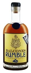 """Balcones Rumble - Classified as a """"Spirit Specialty"""", Balcones """"Rumble"""" is created from Texas wildflower honey, Mission figs, Turbinado sugar and Texas Hill Country spring water. An inviting nose of honey, wildflower and vanilla leads to a complex, rum-like palate of toffee, citrus, candied fig and chocolate, accented by a hint of licorice. Notes of oak, smoked tea and earth linger through the finish."""