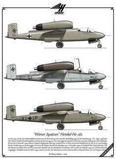 Heinkel He 162 prototypes