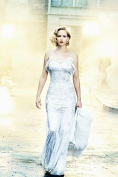 Jennifer Lawrence photographed by Peter Lindbergh for Vanity Fair's Holiday 2016/2017 issue