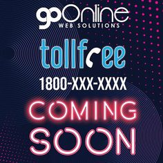 First Big Announcement of 2019. Now there wont be any need to remember multiple numbers. Were happy to announce next level support/sales number. Single number multiple departments. 1800 coming soon to GoOnline Web Solutions. We thank you for all your support and bringing us to this level. Were never far from making it easier for our clients to reach us.  #staytuned #GoOnlineWebSolutions #webdesigner #websitedesign #webdesigntrends #digitalmarketing #SEO #SMO #socialmediamarketing #PPC #CTR… Social Media Marketing, Digital Marketing, Go Online, Web Design Trends, S Mo, Announcement, Numbers, Neon Signs, Big