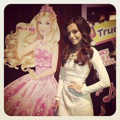 Cher Lloyd ! just like a barbie perfect! Except she is not phony