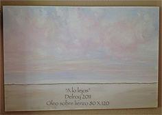 """A lo lejos"" óleo DelroY  http://www.oldcuriosityshop.es/#!obras-delroy/c1uqz https://www.facebook.com/pages/Gálvez-House-Málaga-Bed-and-Breakfast/399550073455922?fref=photo"