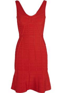 Shop Herve Leger Christina Bandage Mini Dress from stores. On SALE now! Red Bandage Dress, Bodycon Dress, Poppy Dress, Dress Red, Herve Leger Dress, Red Cocktail Dress, Discount Designer Clothes, Clothes For Sale, Dress To Impress