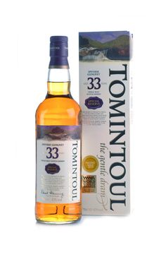 Tomintoul 33 Year Old single malt whisky available from Whisky Please.