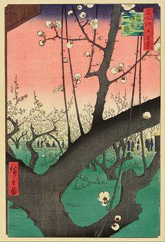 File:Ando Hiroshige - Plum Garden, Kameido - Google Art Project.jpg