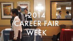 Career Fairs Sept. 2014: Career FIRE, ECAD and Career Link.