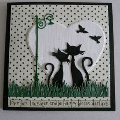 Image result for marianne design collectables cutting dies and stamp french cats col 1344