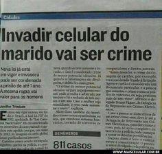 Concordam com essa nova lei? http://www.maiscelular.com.br/