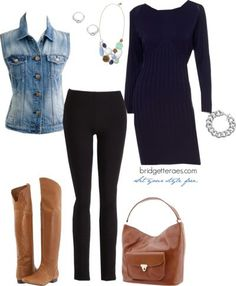 One Item, Five Fashionable Ways. Look 5