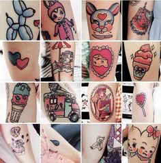 Melanie martinez tattoos