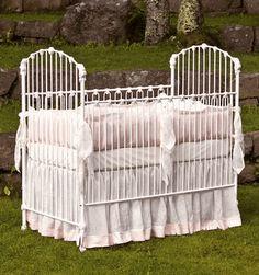 Corsican Crib and Lulla Smith Bedding