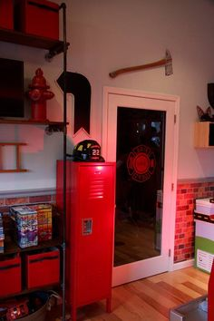 232 Best Firefighter Bedroom Images On Pinterest Fire Fighters Firefighter Bedroom And