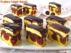 The colors of the plate: Danube waves cake Chocolate Mouse Cake, Wave Cake, My Recipes, Cheesecake, Food And Drink, Sweets, Baking, Breakfast, Desserts