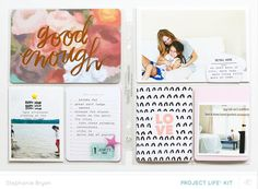 July Project Life - Part II by stephaniebryan at Studio Calico Project Life 6x8, Project Life Layouts, Studio Calico, Crate Paper, Drake, Life Page, Pocket Letters, Travel Scrapbook, Smash Book