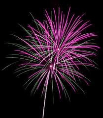 Like a firework, my most creative and best ideas come burst forth brightly and unexpectedly!