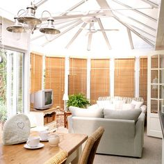 Family room conservatory | Conservatories | Conservatory decorating ideas | PHOTO GALLERY | Housetohome.co.uk