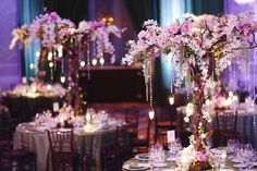 hanging decorations for enchanted wedding | With upbeat tunes performed by The Headliners , the new couple, as ...