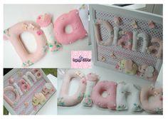 Frame & Name Banner for baby Diana Felt Name Banner, Name Banners, Diana, Handmade Gifts, Frame, Baby, Outfits, Dresses, Decor