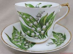CH3 Regency Lily of The Valley Tea Cup and Saucer | eBay