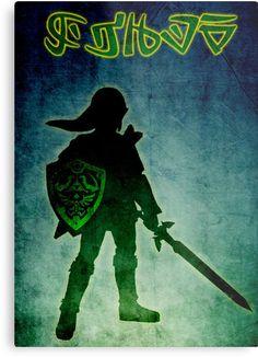 Legend of Zelda Print on Metal by scardesign11 #zelda #legend #coolposter #gaming #gamers #gamerposter #Posteronmetal #metalprint #videogames #link #hero #geek #nerd #gftsforhim #kids #gifts #buygamingposters #gamingposter #games #geek #nerd #geekgifts #gamersroom #mancave #geekroom #kidsroom