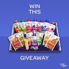 Want to win some Plum food for your baby!? Enter here===>