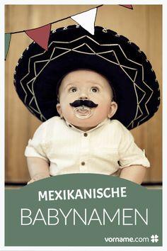 Mexikanische Vornamen sind in Deutschland eher selten. Finde bei uns einen ganz besonderen Namen für Dein Baby.