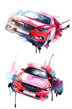 Concept New Mazda 6                                                                                                                                                                                 もっと見る