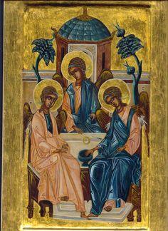 L'hospitalité d'Abraham ou la Sainte Trinité de Roublev