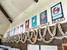 The Big List of Northern California Strange & Unique Spots | California Through My Lens world longest garlic braid