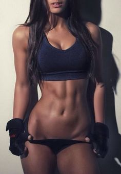 She's buff...fitness