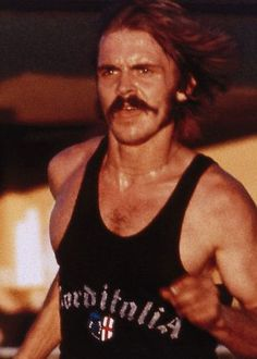 We're not saying it was definitely Steve's mustache that helped him set American records for seven different distance track events, but we know it definitely didn't hurt.
