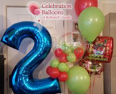 Children's party balloons, lots of different themes available from www.balloonsleeds.com